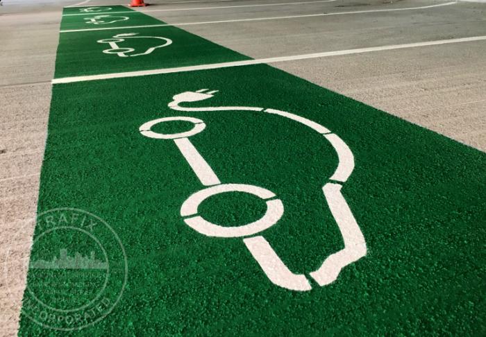 electric vehicle parking symbols